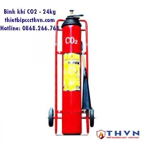 Bình chữa cháy khí CO2 24kg