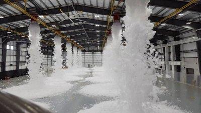 Nguyên lý hoạt động của hệ thống chữa cháy bọt Foam