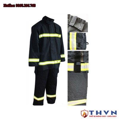 Quần áo chống cháy Nomex 2 lớp
