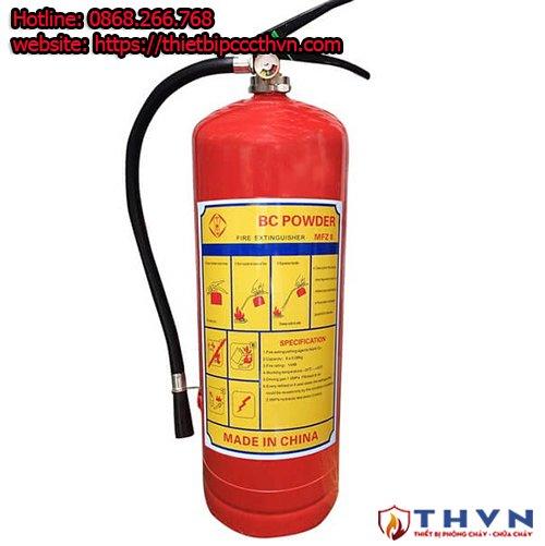 Bình chữa cháy bột BC 8kg MFZ8